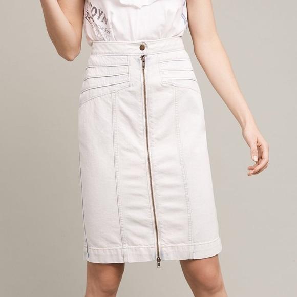 e11dba8c664 Anthropologie Dresses   Skirts - Pilcro and the Letterpress seamed denim  skirt